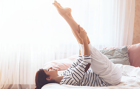 Ασκήσεις στο Κρεβάτι